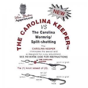 Tope de pesca Carolina Keeper.
