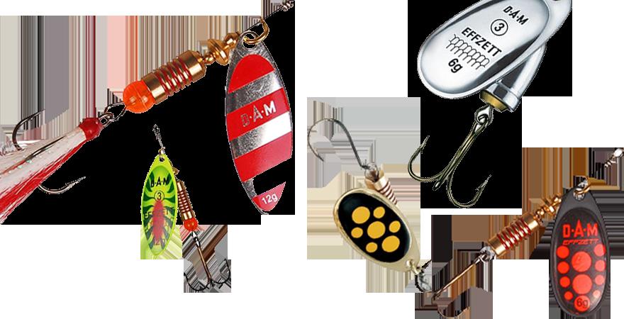 Cucharilla pesca DAM EFFZETT Spinner Fz