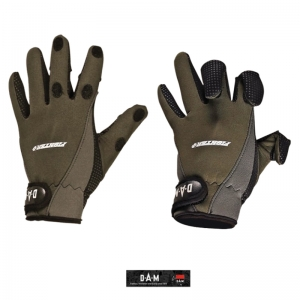 Guantes de pesca Dam Fighter Pro+ Neoprene Gloves Talla L