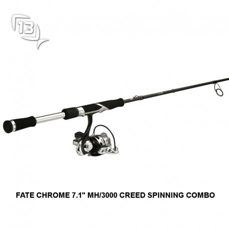 Combo de pesca 13 Fishing CODE NEON 6.7MH/2000 SPINNING