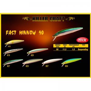 Señuelo Killer Craft Fast Minnow 90SP