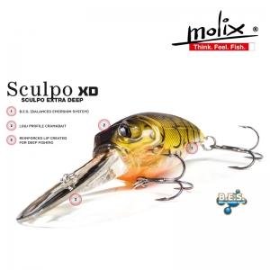 Señuelo Mólix Sculpo XD
