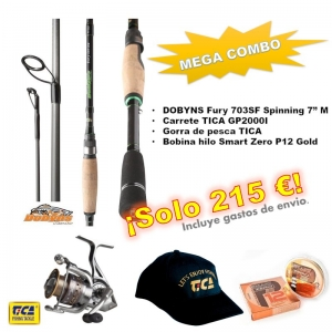 Combo Spinning Dobyns FR 703SF + Tica GP2000I